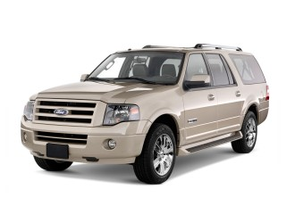 2013 Ford Expedition EL 2WD 4-door Limited Angular Front Exterior View