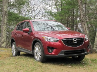 2013 Mazda CX-5 road test, Catskill Mountains, NY, April 2012