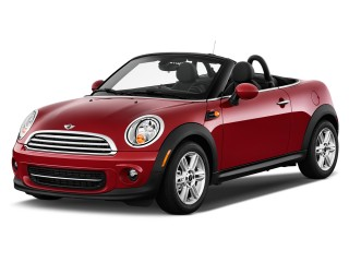 2013 MINI Cooper Roadster 2-door Angular Front Exterior View
