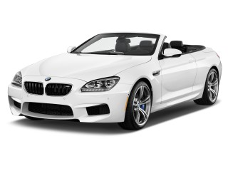 2014 BMW M6 2-door Convertible Angular Front Exterior View