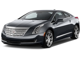 Angular Front Exterior View - 2014 Cadillac ELR 2-door Coupe