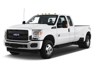 "2014 Ford Super Duty F-350 SRW 4WD SuperCab 142"" XL Angular Front Exterior View"