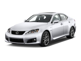 2014 Lexus IS F 4-door Sedan Angular Front Exterior View