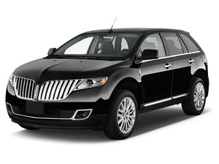2014 Lincoln MKX FWD 4-door Angular Front Exterior View