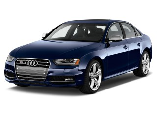 Angular Front Exterior View - 2015 Audi S4 4-door Sedan Man Premium Plus