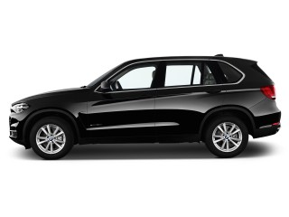 Side Exterior View - 2015 BMW X5 AWD 4-door xDrive35d
