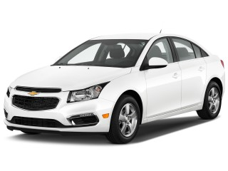 Angular Front Exterior View - 2015 Chevrolet Cruze 4-door Sedan Auto 1LT
