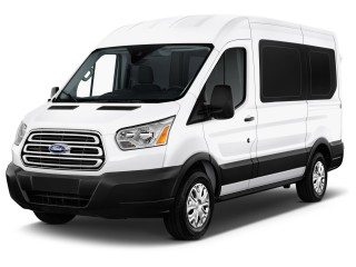 "2015 Ford Transit Wagon T-150 130"" Low Roof XL Swing-Out RH Dr"