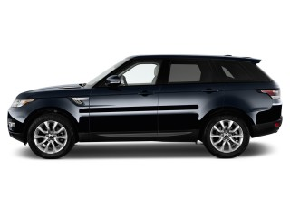 2015 Land Rover Range Rover Sport 4WD 4-door SE Side Exterior View