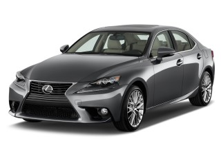 2015 Lexus IS 250 4-door Sport Sedan Auto RWD Angular Front Exterior View