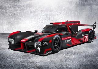 2016 Audi R18 LMP1 World Endurance Championship race car