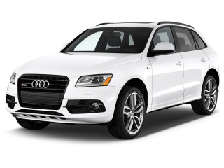 2016 Audi SQ5 quattro 4-door 3.0T Premium Plus Angular Front Exterior View