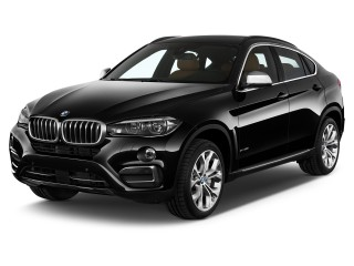 Angular Front Exterior View - 2016 BMW X6 AWD 4-door xDrive50i