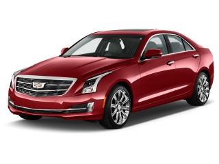 2016 Cadillac ATS Sedan 4-door Sedan 2.5L Standard RWD Angular Front Exterior View
