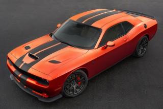 2016 Dodge Challenger SRT Hellcat in Go Mango