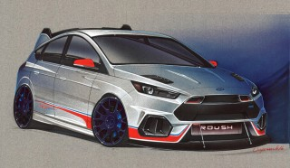 2016 Ford Focus RS by Roush, 2016 SEMA show