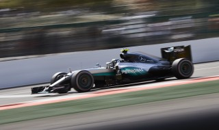 Mercedes AMG's Nico Rosberg at the 2016 Formula One Belgian Grand Prix
