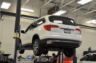 2016 Honda Pilot Touring long-term road test, first service stop
