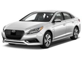 2016 Hyundai Sonata Plug-In Hybrid 4-door Sedan Limited Angular Front Exterior View
