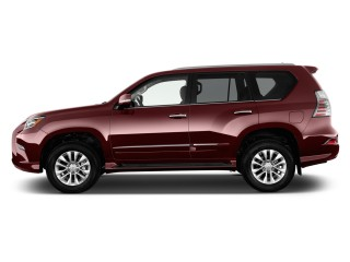 Side Exterior View - 2016 Lexus GX 460 4WD 4-door
