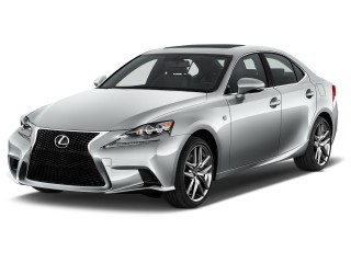 2016 Lexus IS 200t 4-door Sedan Angular Front Exterior View