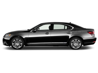 2016 Lexus LS 600h L 4-door Sedan Hybrid Side Exterior View