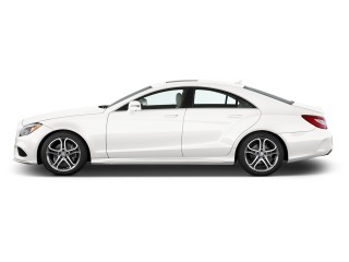 Side Exterior View - 2016 Mercedes-Benz CLS Class 4-door Sedan CLS400 RWD