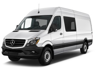"2016 Mercedes-Benz Sprinter Crew Vans RWD 2500 170"" Angular Front Exterior View"