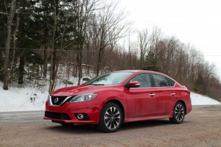 2016 Nissan Sentra 1.8 SR in upstate New York, April 2016