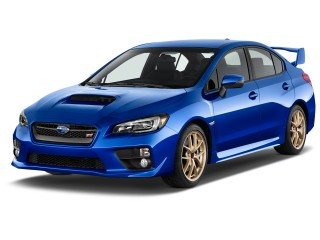 2016 Subaru WRX STI 4-door Sedan Angular Front Exterior View