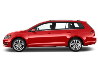 2016 Volkswagen Golf SportWagen 4-door Auto TSI SEL Side Exterior View