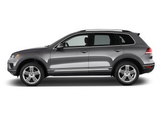 Side Exterior View - 2016 Volkswagen Touareg 4-door TDI Executive