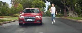 2017 Audi A4 in a Domino's campaign