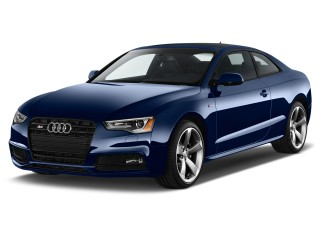 2017 Audi S5 Coupe 3.0 TFSI Manual Angular Front Exterior View