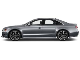 2017 Audi S8 plus 4.0 TFSI Side Exterior View