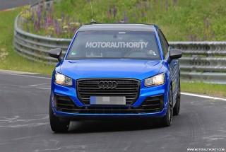 2017 Audi SQ2 spy shots - Image via S. Baldauf/SB-Medien
