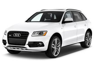 2017 Audi SQ5 3.0 TFSI Premium Plus Angular Front Exterior View