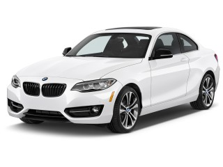 2017 BMW 2-Series 230i Coupe Angular Front Exterior View