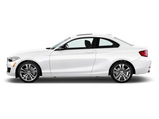 2017 BMW 2-Series 230i Coupe Side Exterior View