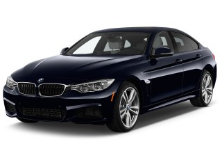 2017 BMW 4-Series 440i Gran Coupe Angular Front Exterior View