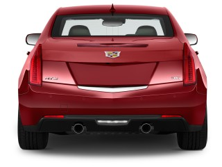 2017 Cadillac ATS Sedan 4-door Sedan 3.6L Premium Performance RWD Rear Exterior View