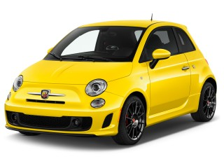 2017 FIAT 500 Abarth Hatch Angular Front Exterior View