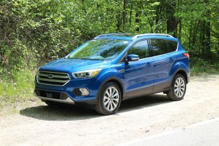 2017 Ford Escape, Elkhart Lake, Wisconsin, May 2016