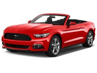 2017 Ford Mustang V6 Convertible Angular Front Exterior View