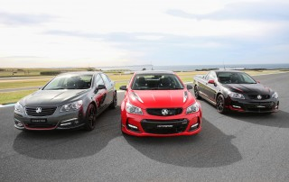 Holden rolls out special editions to mark end of Aussie-built Commodore