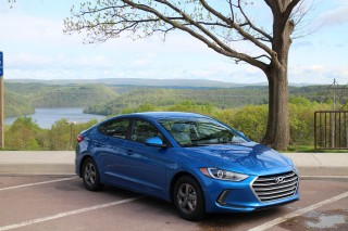 """2017 Hyundai Elantra Eco road trip, May 2016 - Maryland's welcome center wins """"Most Scenic' award"""
