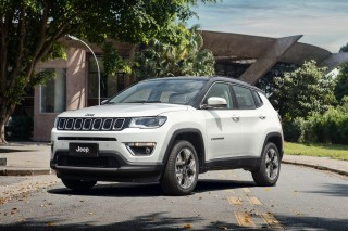 2017 Jeep Compass Limited (Brazil spec)