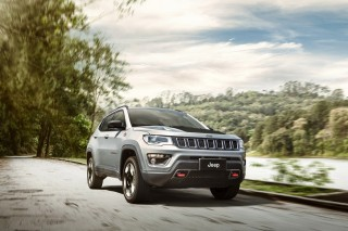 The new 2017 Jeep Compass Trailhawk