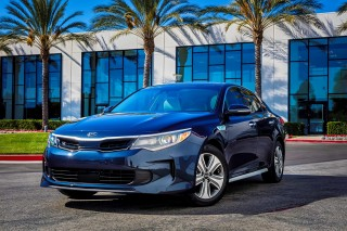 2017 Kia Optima Hybrids: Details On 27-Mile Plug-In Hybrid