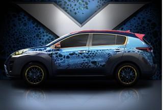 2017 Kia Sportage inspired by 'X-Men: Apocalypse'